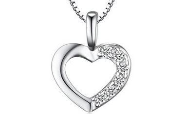 Herz Prinzessin Halskette