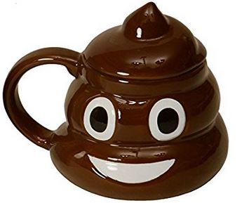 Scheißhaufen Kaffeetasse