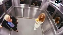 Schock im Fahrstuhl