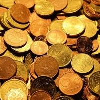 Münzen für die Kirche